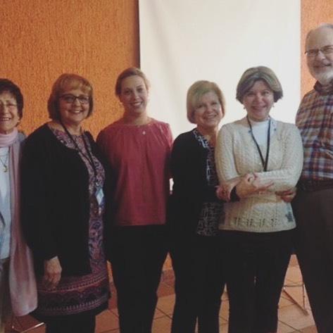 Francis Casa Lago 4 con Faculty members