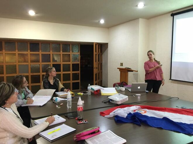 Jeanice Casa Lago 6 mis 3 paraguayitas