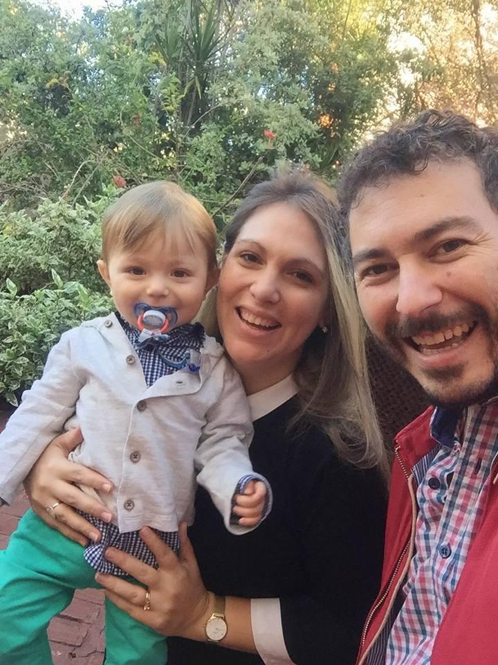 Silvia, Eduardo y Agustín