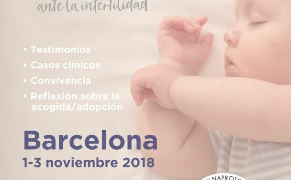 II Encuentro de Naprotecnología en Barcelona, 1-3 de noviembre 2018