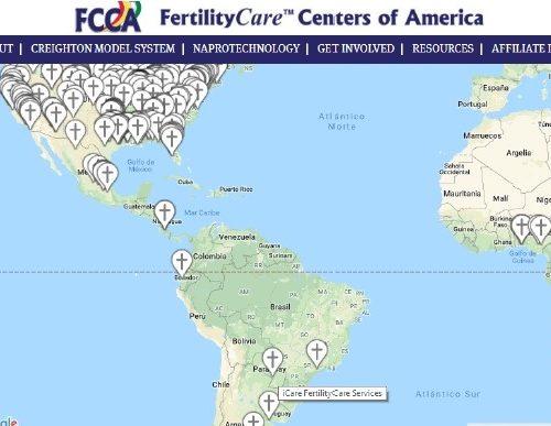 Afiliados a FertilityCare Centers of America (FCCA)